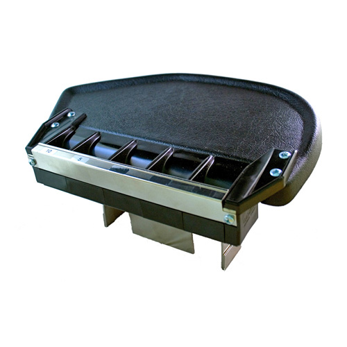 Cambist coin table with coin guide