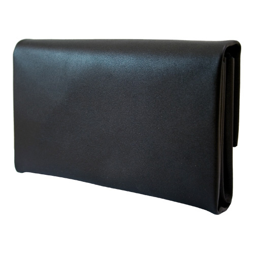 Cambist drivers purse, Genuine leather with solid brass details. Made in Sweden.