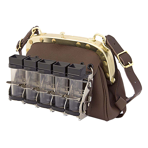 Cambist drivers bag no.311 with 5 tube coin dispenser